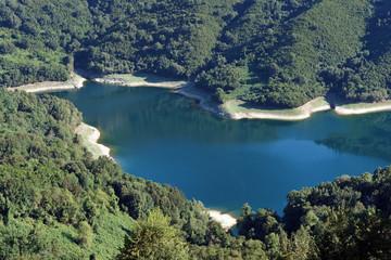 barrage de l' Alesani en haute Corse