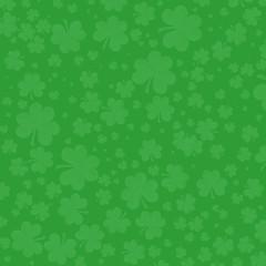Green Shamrocks Background