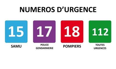 Logos Urgence 15 17 18 112