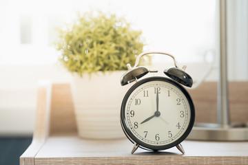good morning clock at 08:00 am
