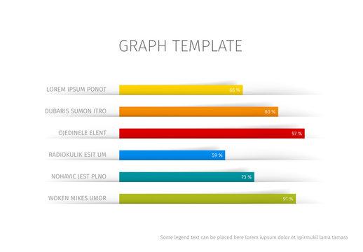 Horizontal Bar Graph Infographic 2
