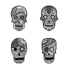 Decorative Art Skull
