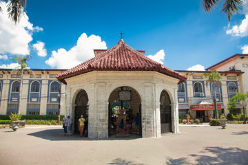 Chapel where is housed Magellan's in Cebu. Philippines.