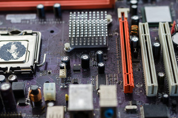 dirty motherboard for the whole frame