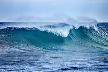 Autocollant pour porte Eau Ocean Wave