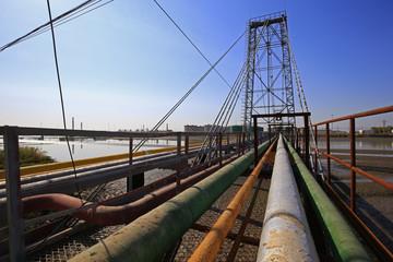 Oil pipeline, the oil industry equipment