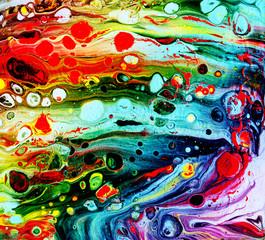 Acryl Fluid painting background