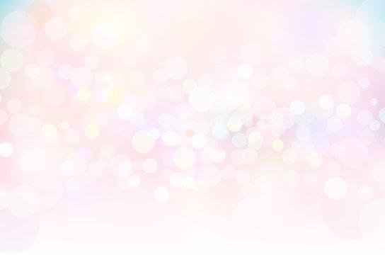ファンタジーピンク春の輝き背景素材
