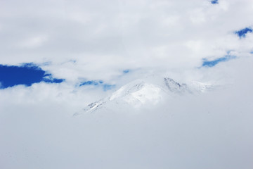 Mountains in the Winter - Andes