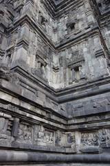 世界遺産 プランバナン寺院 レリーフ インドネシア ジャワ島 ジョグジャカルタ