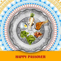 Jewish holiday of Passover Pesach Seder