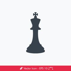 King Icon / Vector (Chess Pieces/Chessman)