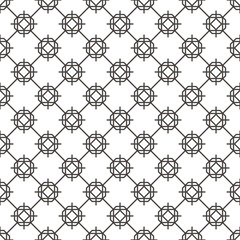 Pattern Abstract Geometric Wallpaper Vector illustration. background. black. on white background
