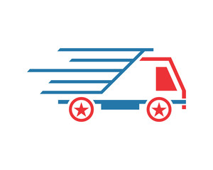 speed fast boxcar transportation vehicle ride drive image vector icon