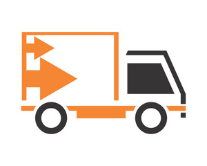 boxcar transportation vehicle ride drive image vector icon