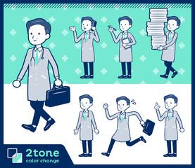 2tone type Doctor old men_set 02
