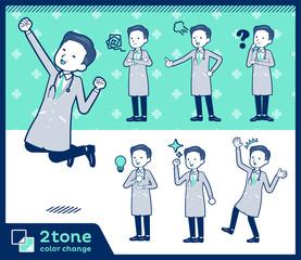 2tone type Doctor old men_set 01