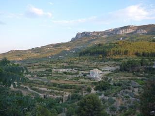 Castell de Guadalest, pueblo con encanto de Alicante en la Comunidad Valenciana ( España)