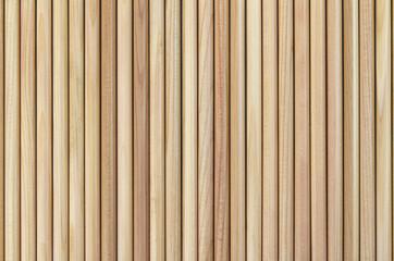 Wooden pencils background pattern