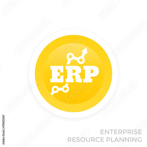 erp system vector icon stock image and royalty free vector files on