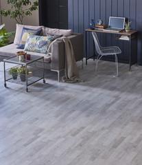 decorative grey parquet dark blue room and grey sofa living room