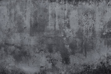 Photo sur Plexiglas Beton Dark grunge concrete texture wall