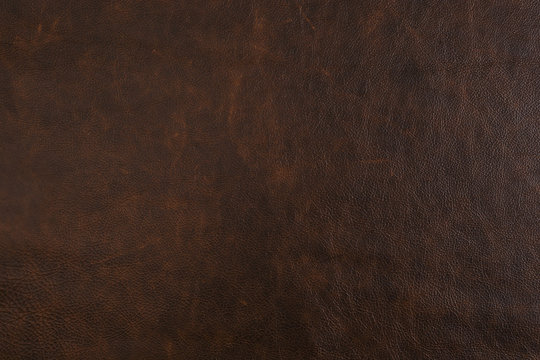 Natural brown leather texture (may used as background).