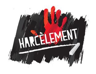 harcèlement en france