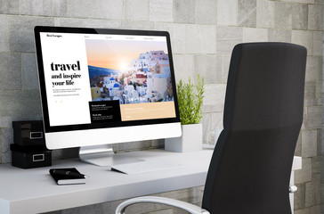 industrial workspace travel website