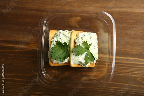 Terrific Delivery Of Food At Home In A Container Of Cottage Cheese Home Remodeling Inspirations Gresiscottssportslandcom