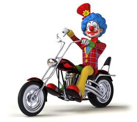 Fun clown - 3D Illustration
