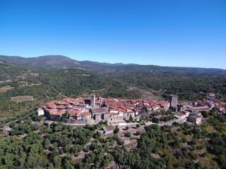 Miranda del Castañar, pueblo de Salamanca (Castilla y León, España)
