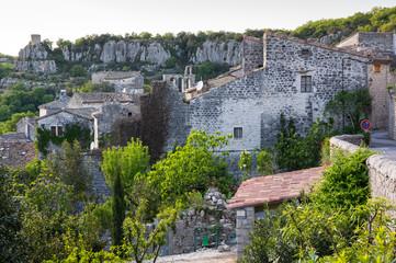 Wall Mural - The village of Balazuc