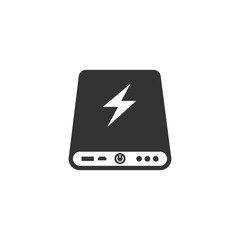 Power bank icon Vector illustration.