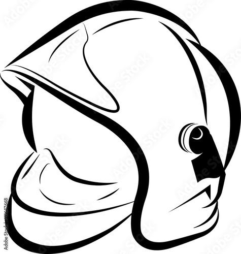 Casque pompier france 2018 alpha fichier vectoriel - Dessin pompier facile ...