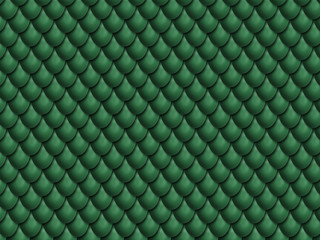 Green Dragon Scales Background Texture