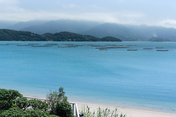 sea of japan view from Itoshima, Kyushu Japan