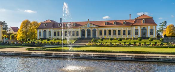 Friedrichschlösschen Barockgarten Großsedlitz