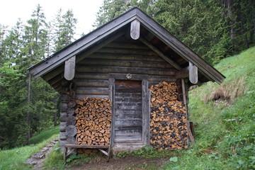 Berghütte Alm
