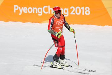 Olympics: Alpine Skiing-Downhill Training