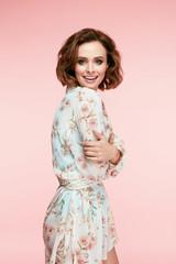 Women Fashion. Beautiful Girl In Stylish Clothes.