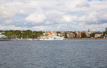 Coastline in Oslo