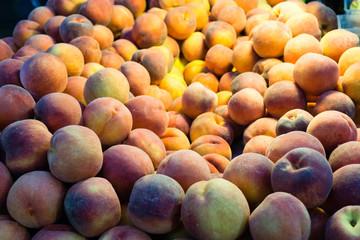 Piles of Peaches
