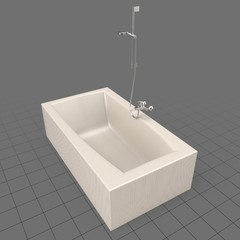 Rectangle bathtub