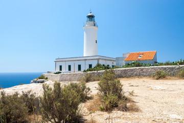 Faro de la Mola lighthouse, Formentera island, Spain