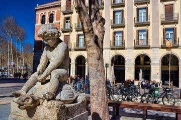 Girona, Brunnen