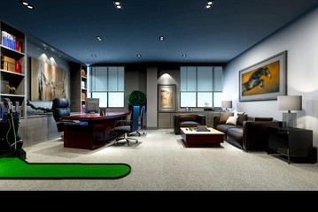 3d render manager working room
