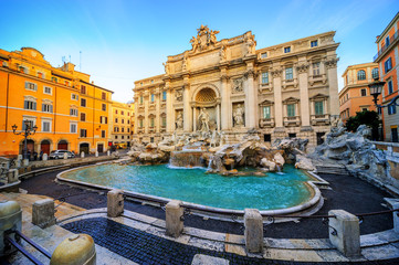 Wall Murals Rome The Trevi Fountain, Rome, Italy