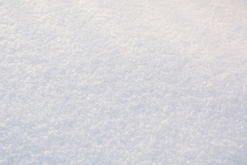 The texture of the snow. Background snow. White pure