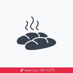 Bread Icon / Vector